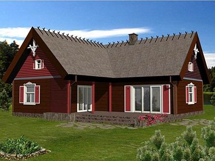 В каком стиле построить деревянный дом?