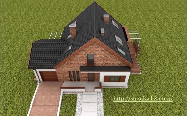 проект односемейного дома