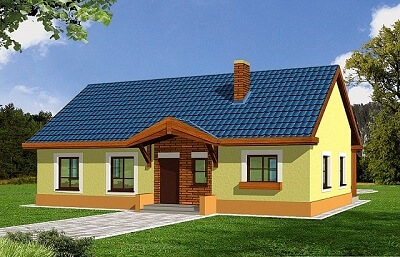 одноэтажный дом - проект