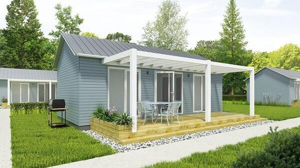 Загородный модульнеый дом
