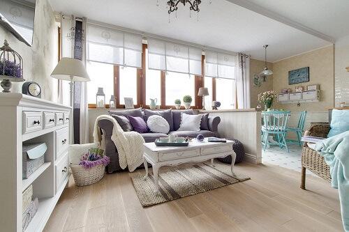 дизайн интерьера - олсвещение и декор