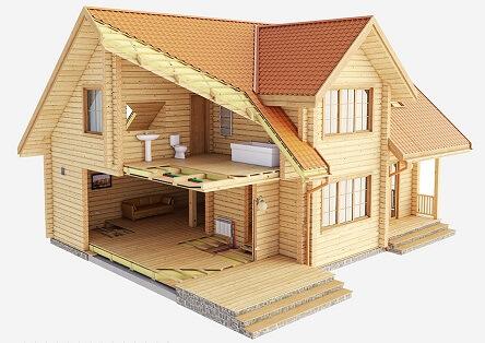 Строим дом своими руками из бруса