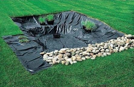 Строим пруд на даче самостоятельно
