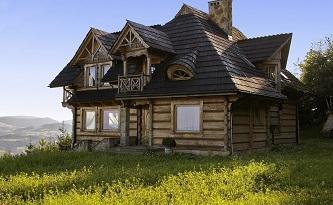 деревянный дом - фундамент