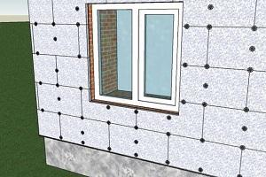 Как утеплить дом пенопластом: технология