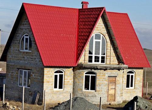 Ракушечник - материал для строительства домов.