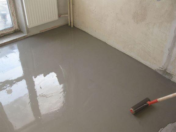 Ремонт. Выравнивание бетонного пола.